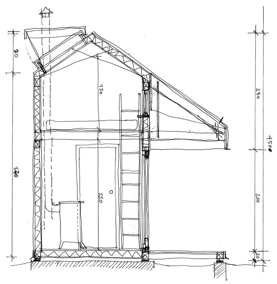 Jan Strumiłło architekt - altana
