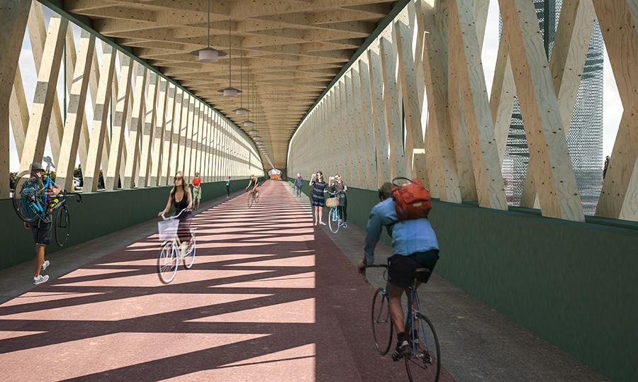 Cycle Bridge Jan Strumiłło